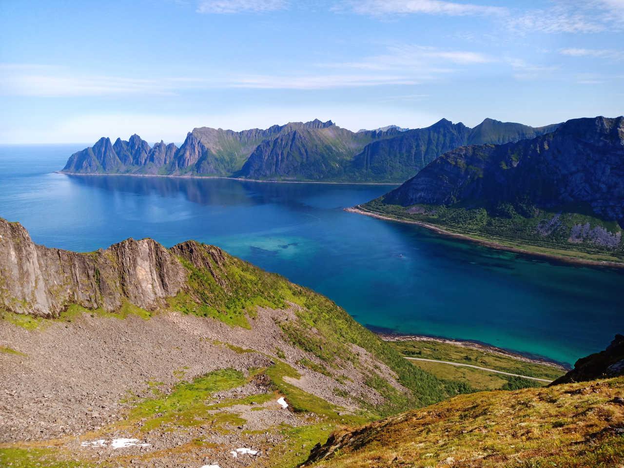 Dans les fjords de Norvège, Senja