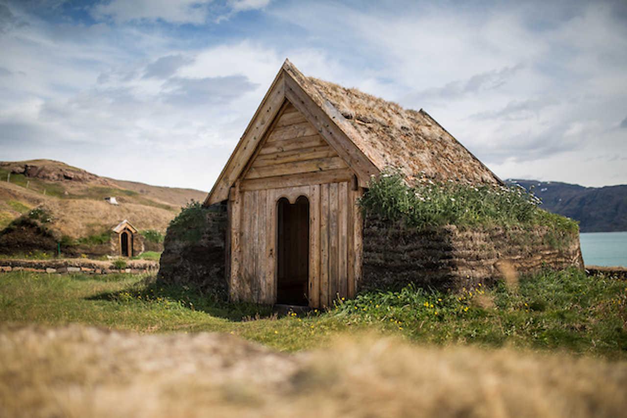 Eglise viking de Tjodhilde, sud Groenland