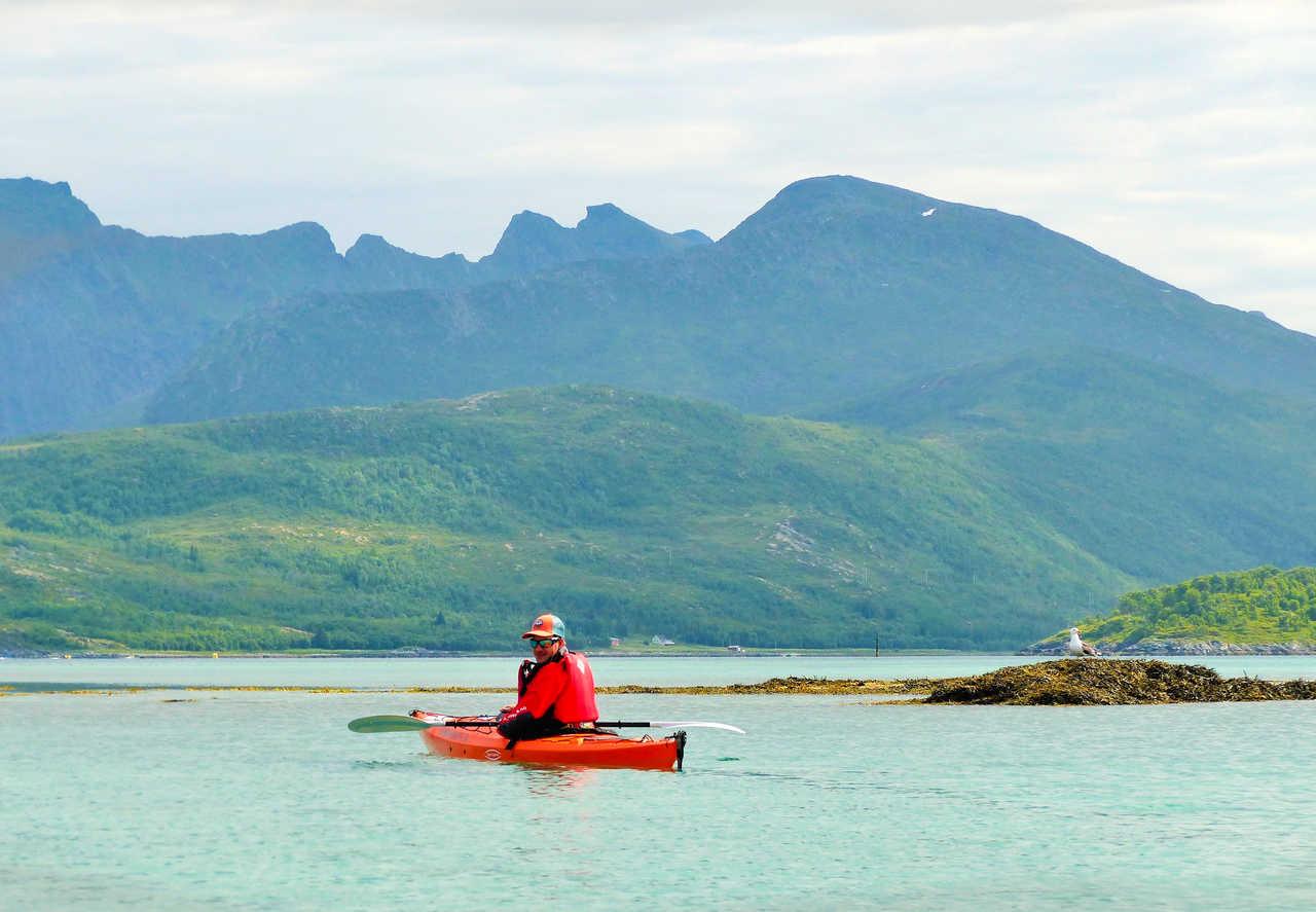 Expédition kayak en Norvège