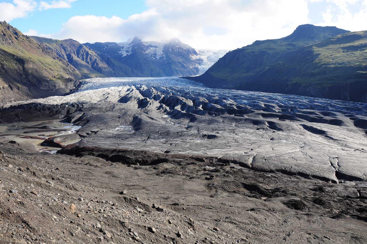 Glacier Vatnajokull en Islande