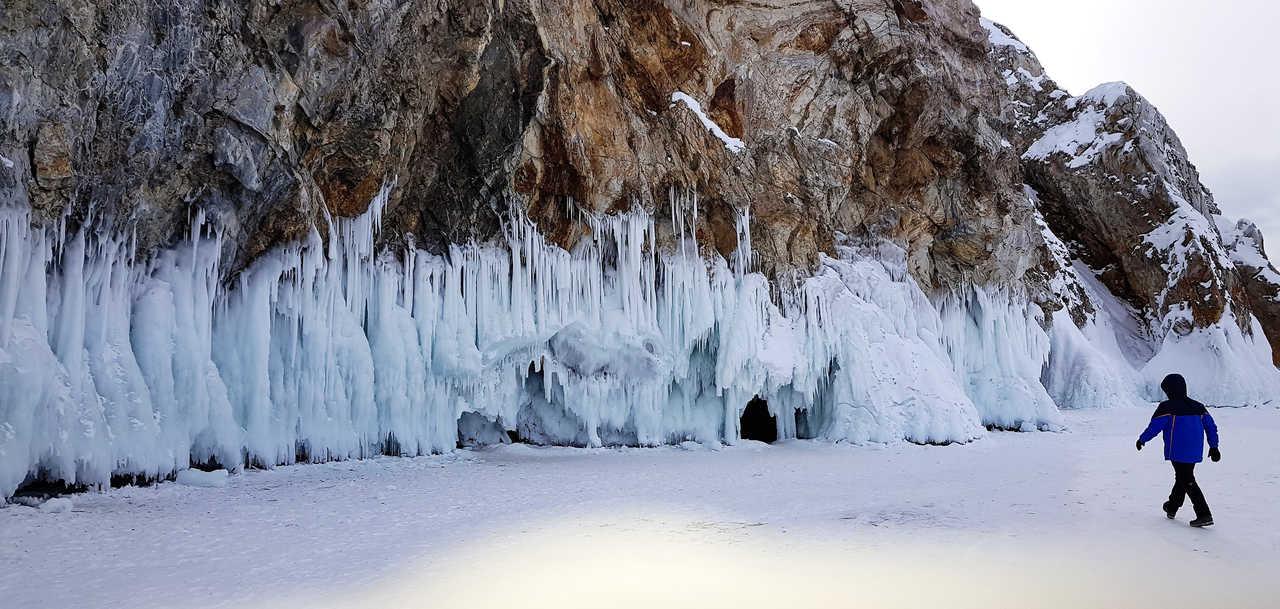 Grotte du lac Baikal