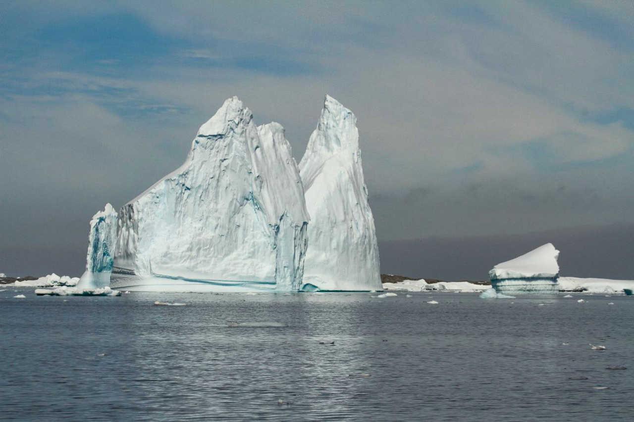 iceberg géant en Antarctique