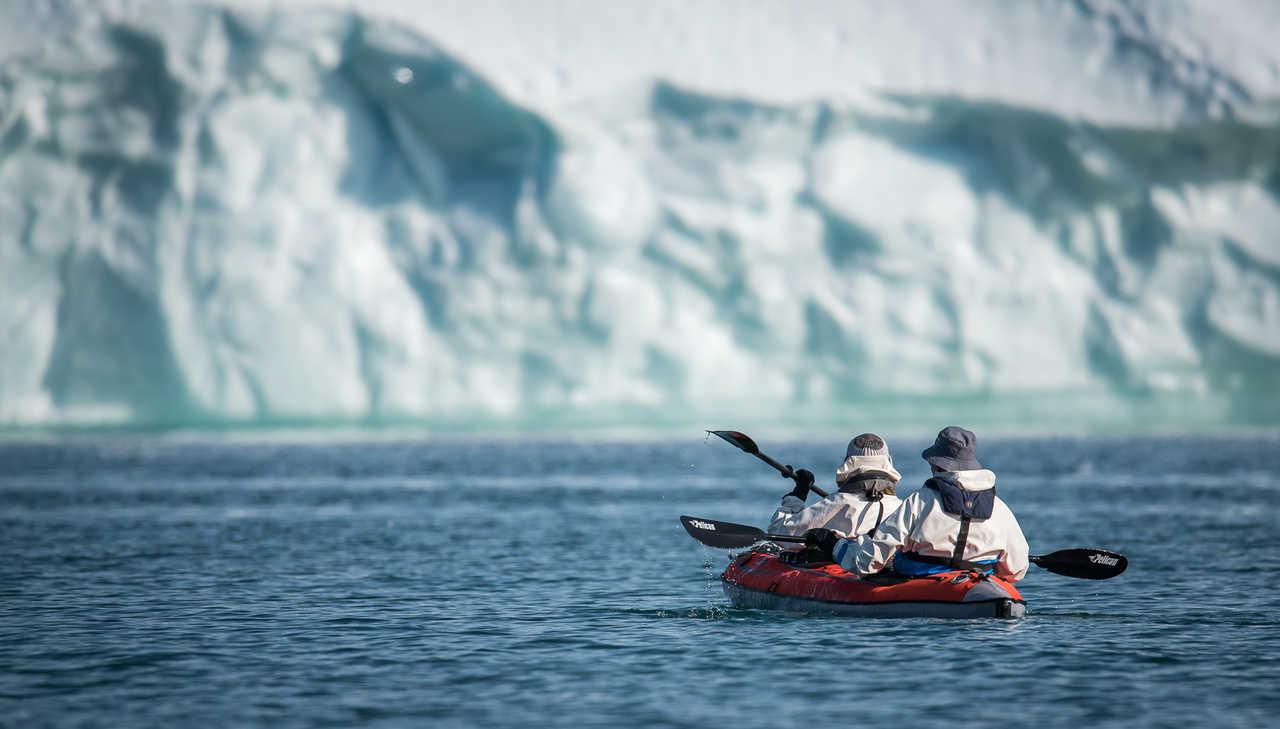Kayak de mer arctique au Groenland