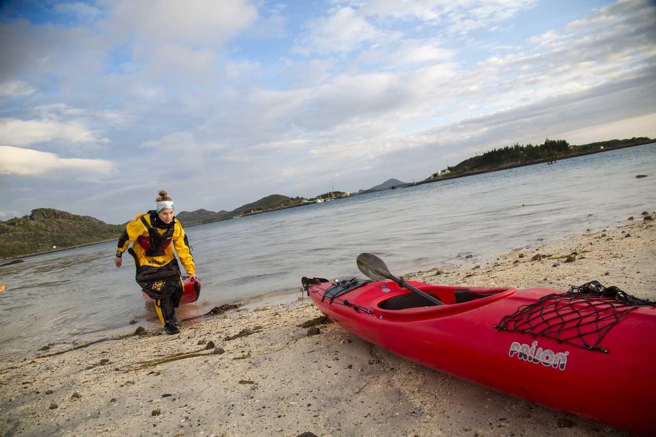 Kayak de mer en Norvège