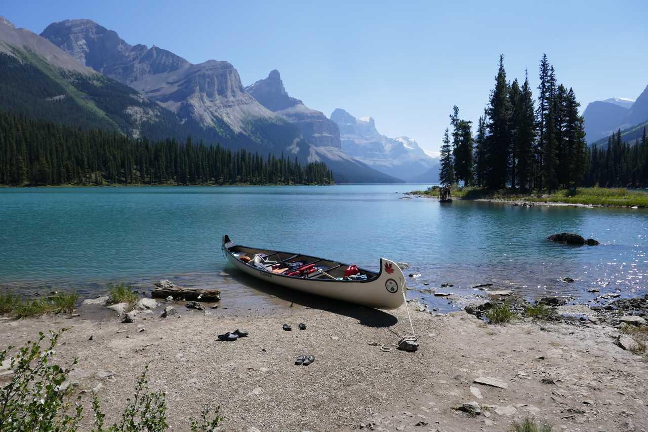Lac Maligne, Canada