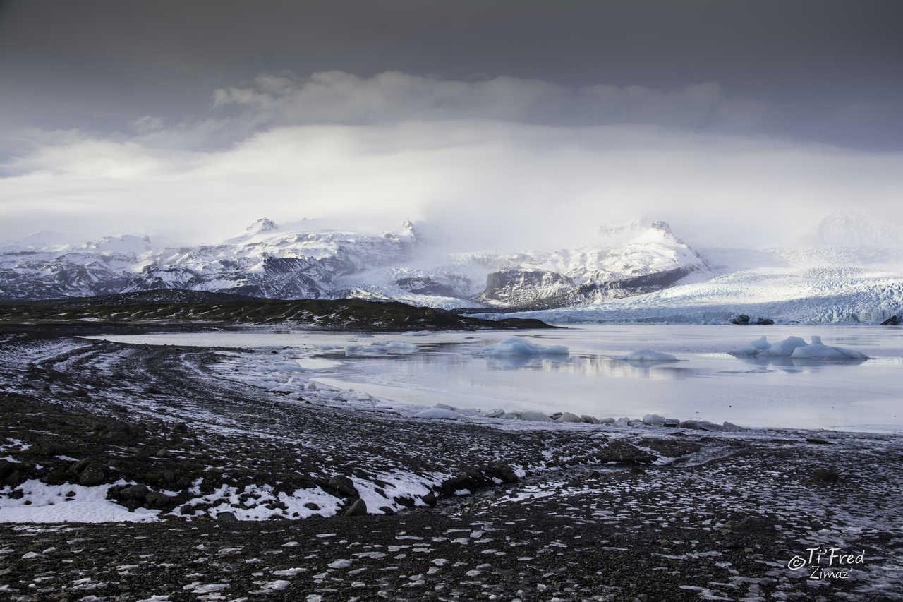 Lagune glacière de Fjallsarlon, Sud de l'Islande