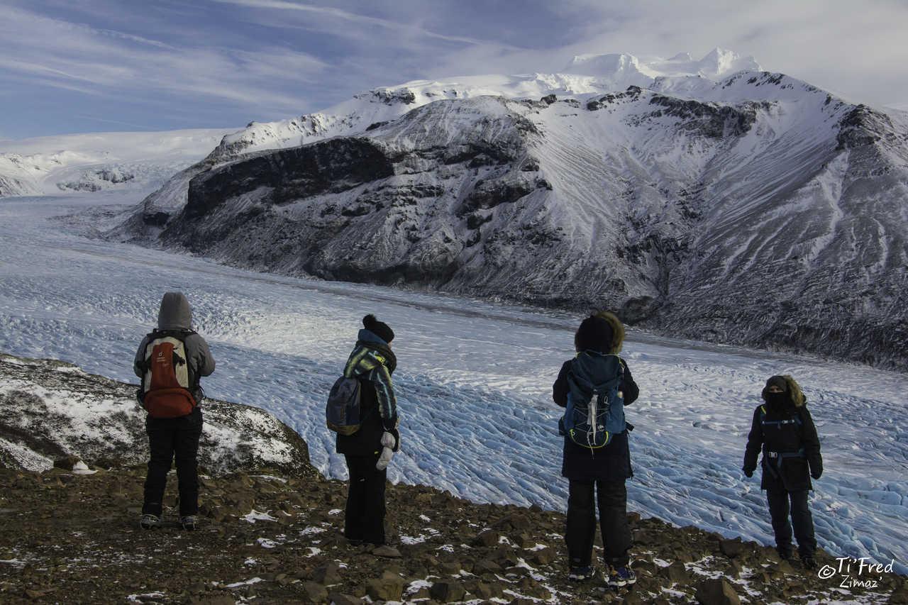 Langue glacière de Skaftafellsjökull, Islande