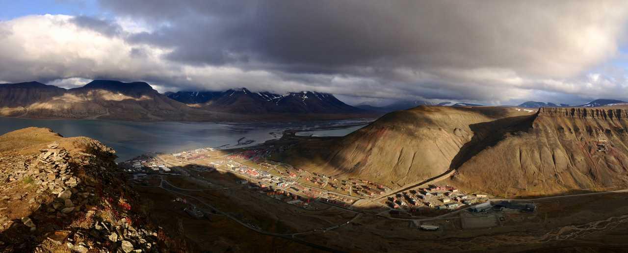 Longyearbyen, capitale du Svalbard