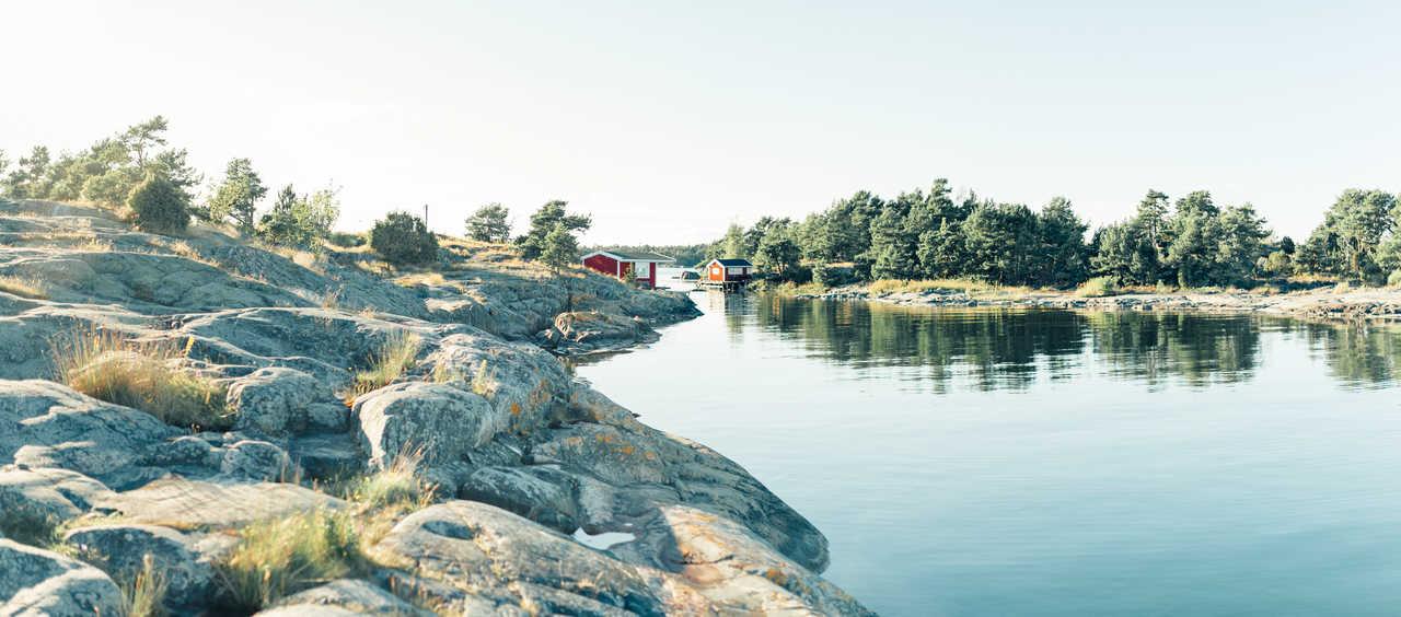 Maisons suédoises à Norrmalm, Sundsvall, Gothenburg, Gotland