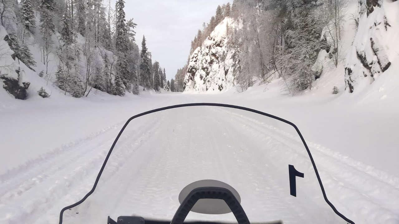 Motoneige à Julma Olkky