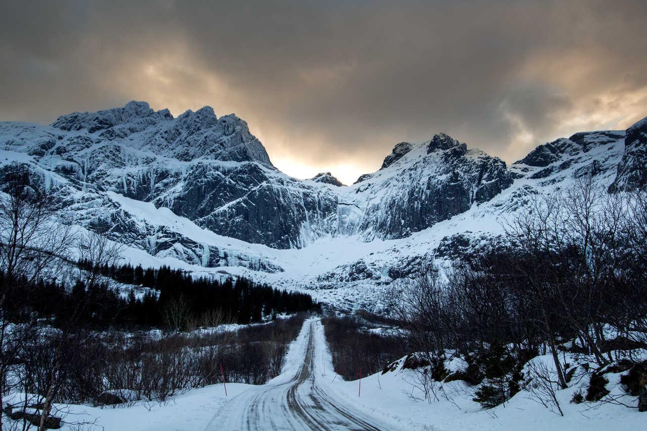Nusfjord en hiver