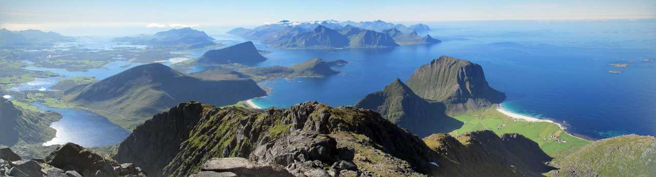 Panorama Norvège Lofoten