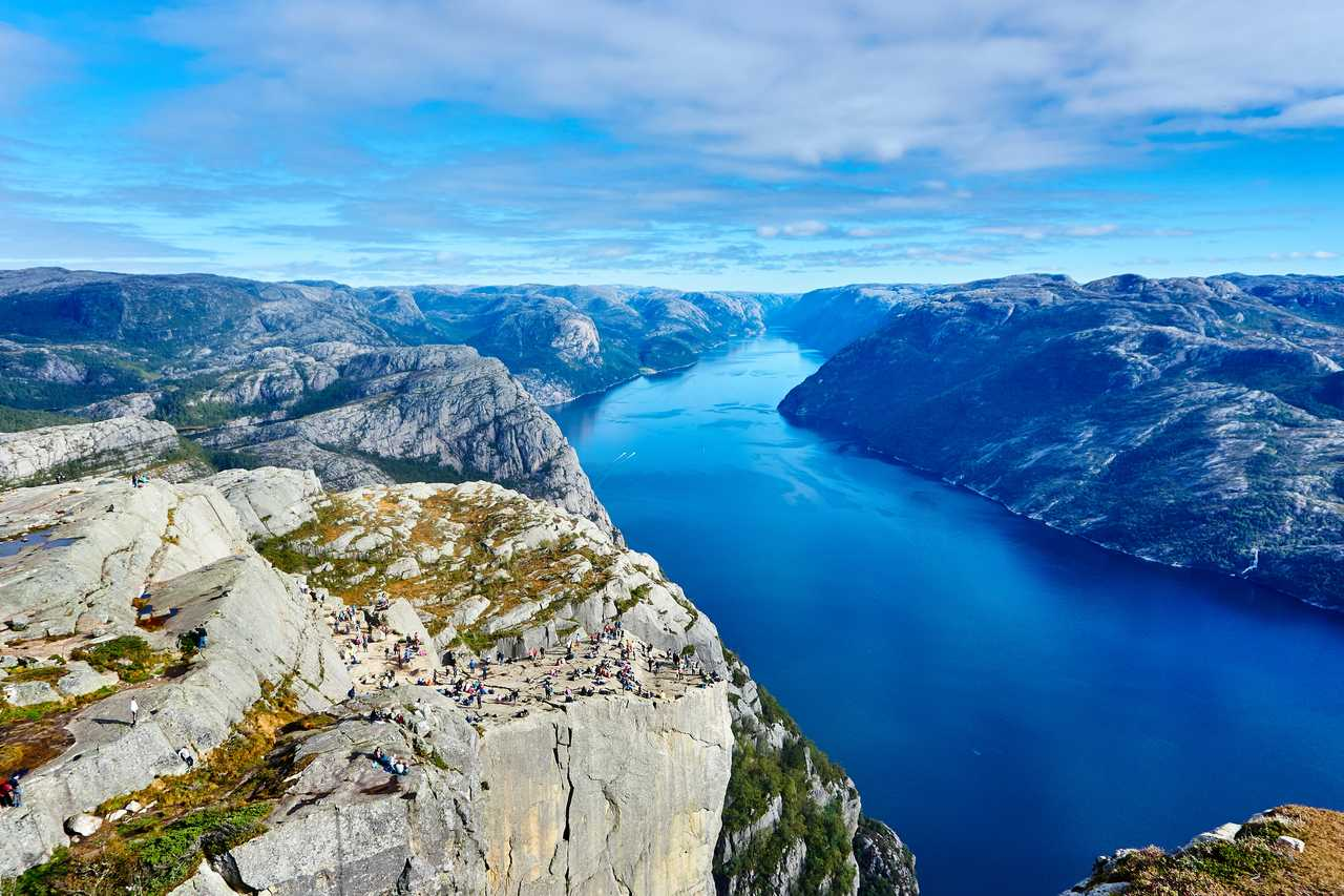 Preikestolen, Sud de la Norvège