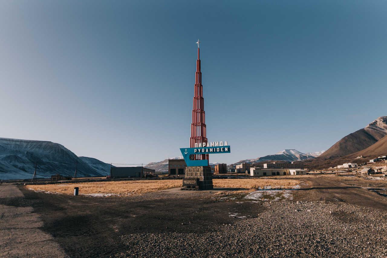 Pyramiden, ville russe abandonnée