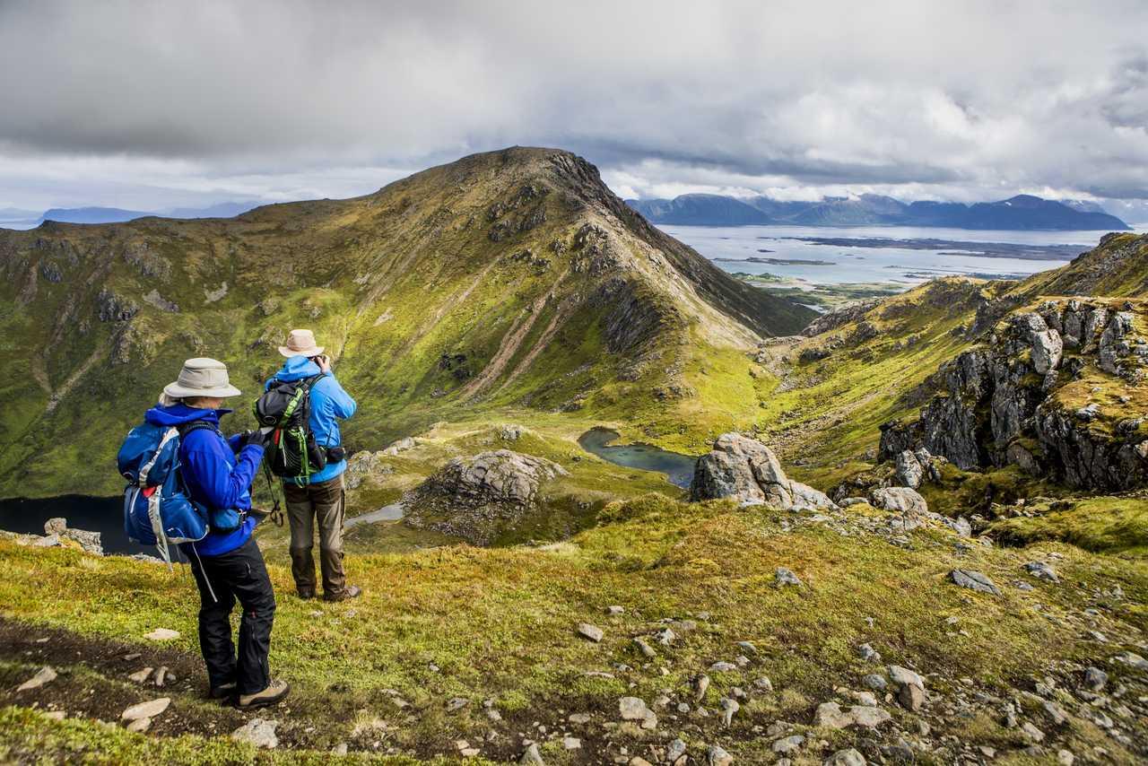 Randonnée en été en Norvège du Nord