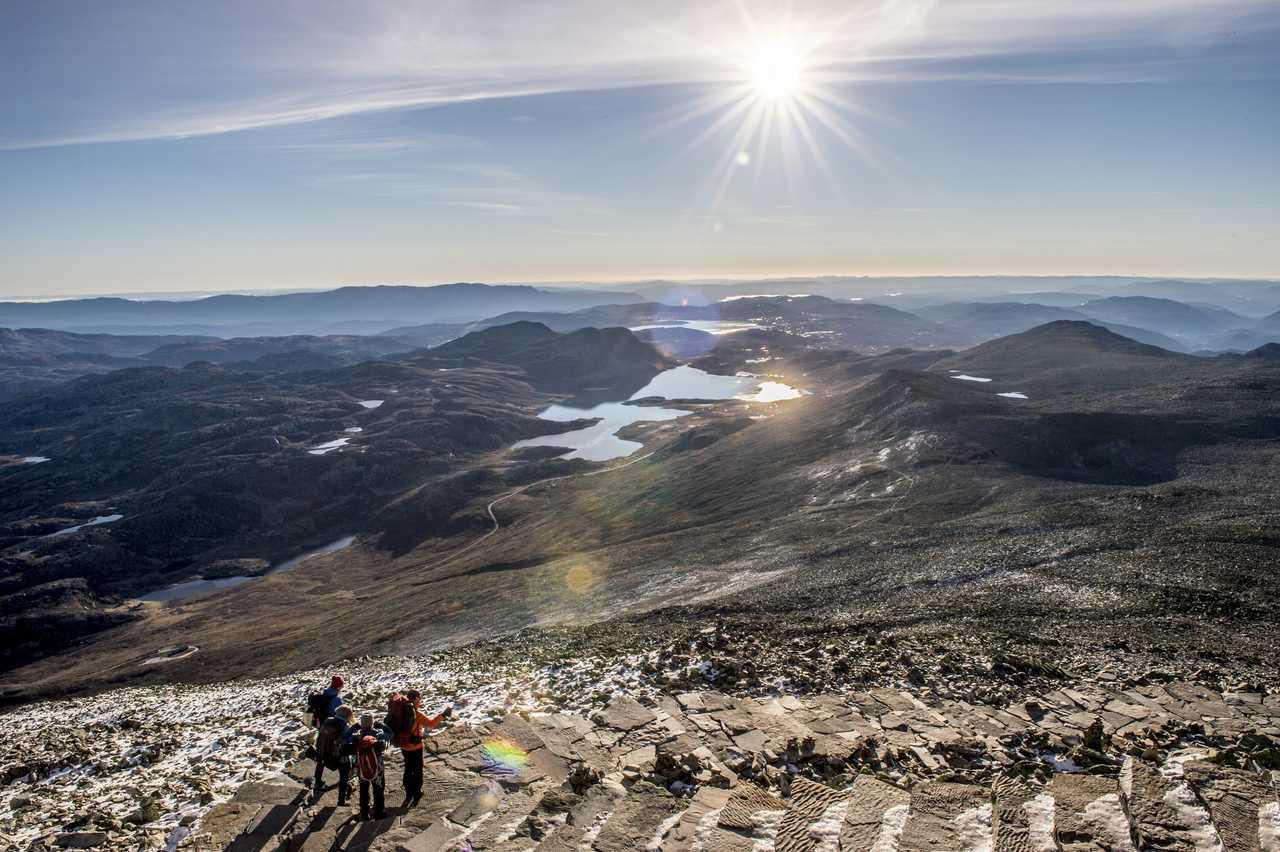 Randonnée en Norvège du Sud