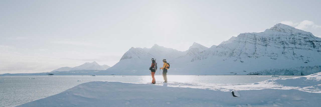 Randonnée ski dans le Grand Nord