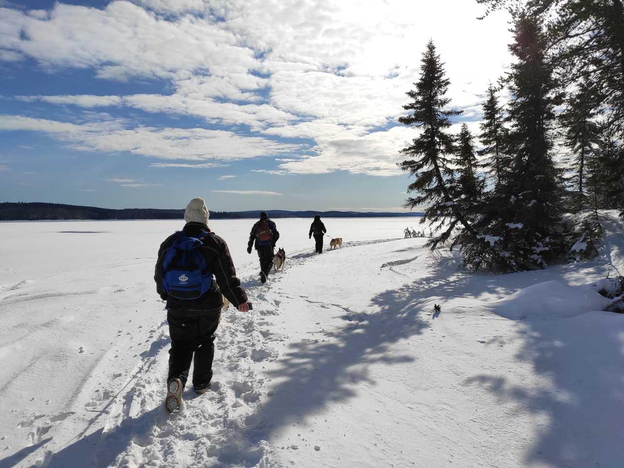 Randonnée sur le lac Taureau