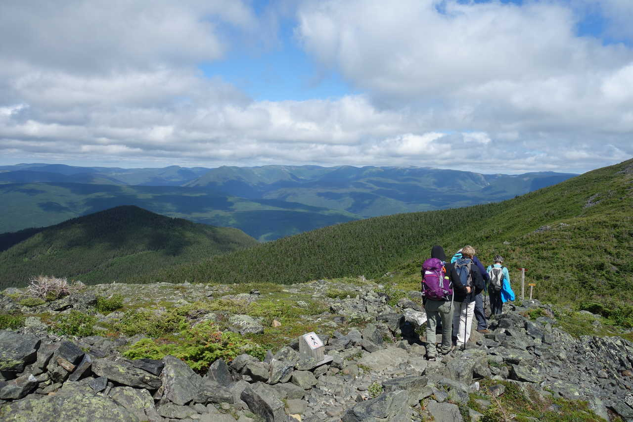Randonnée sur le mont Jacques Cartier