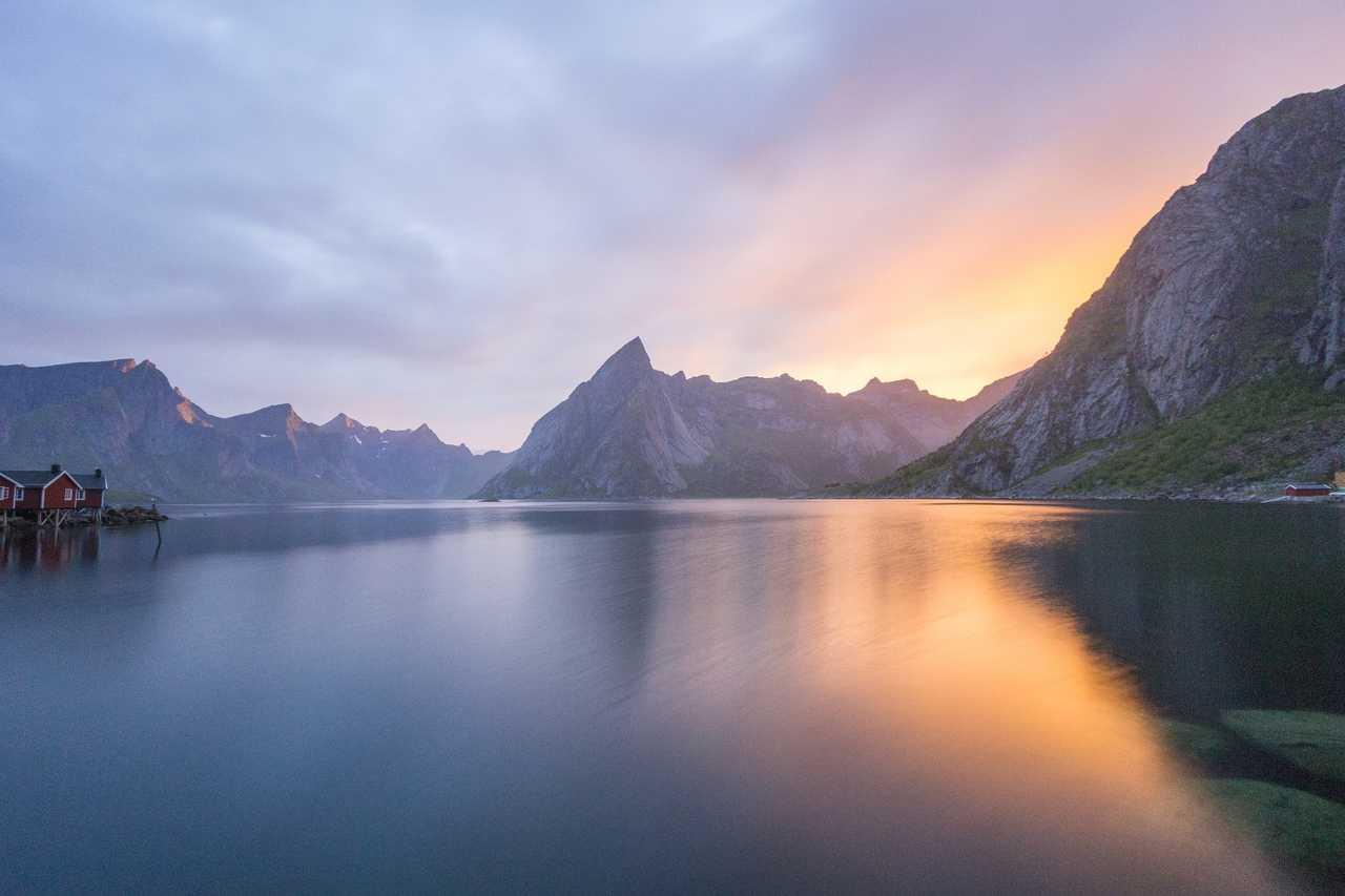 Reine, îles Lofoten, Norvège du Nord