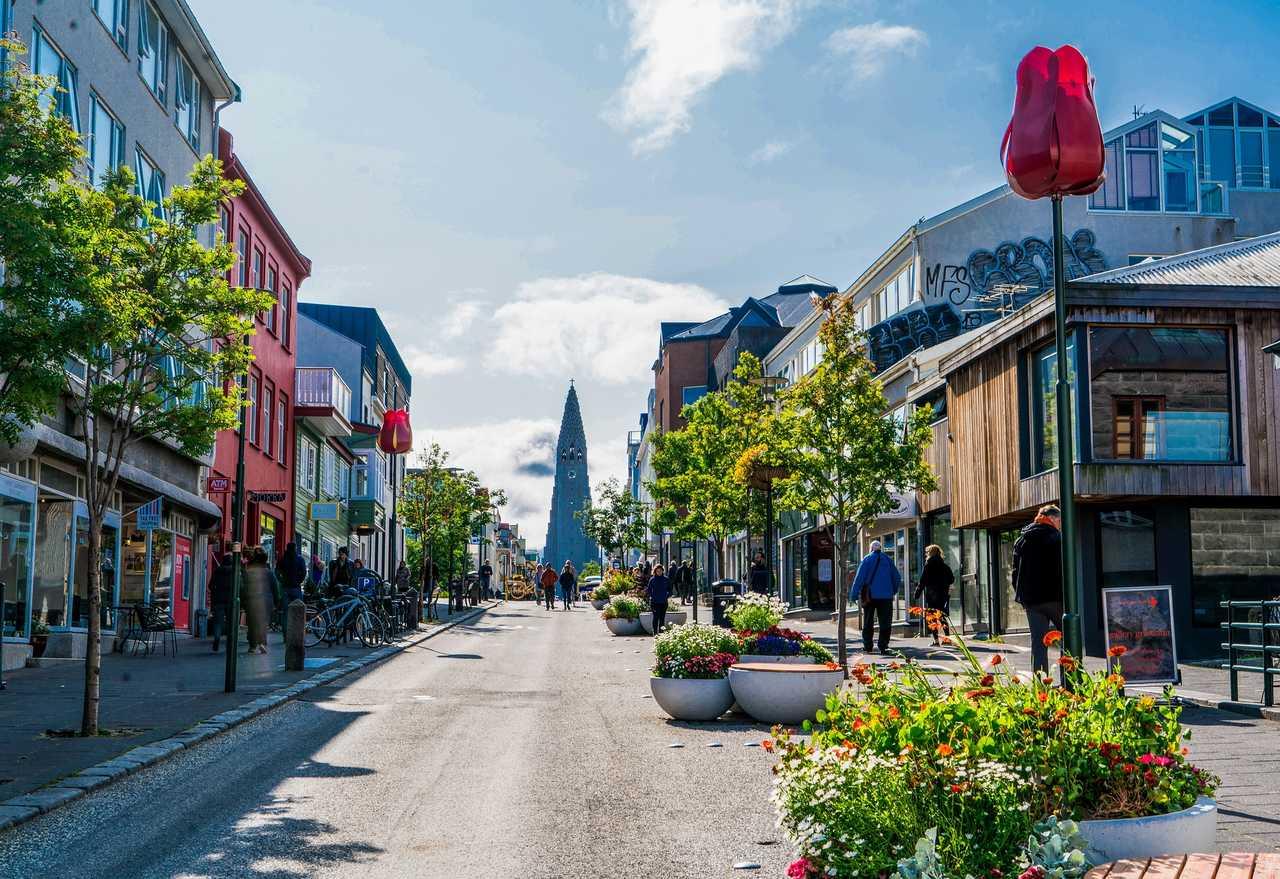 Reykjavik, capitale de l'Islande