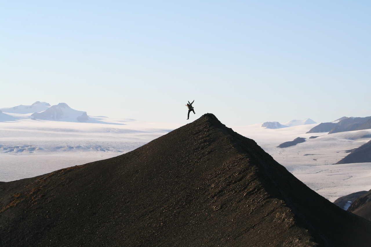Saut sur les sommets du Svalbard