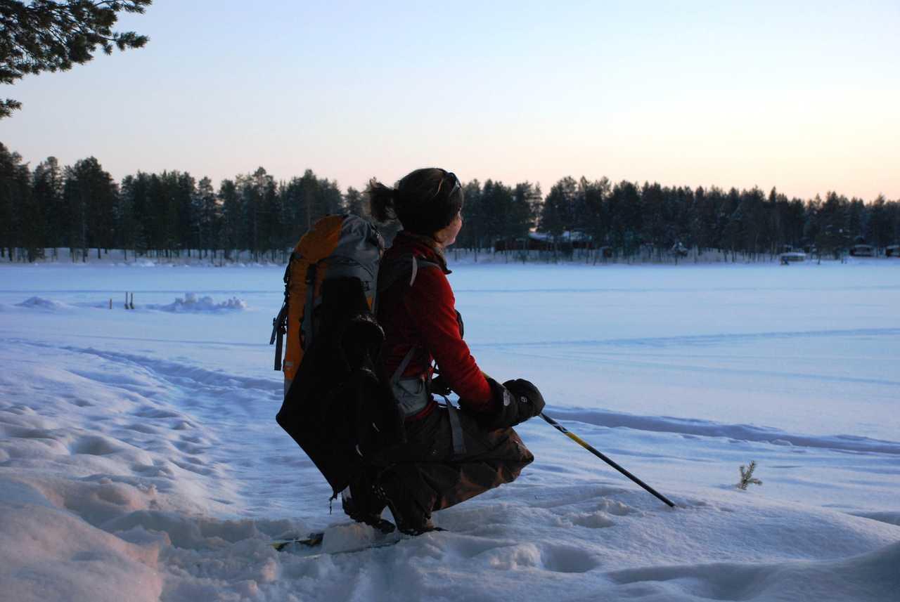 Ski de randonnée nordique à Hossa en Finlande