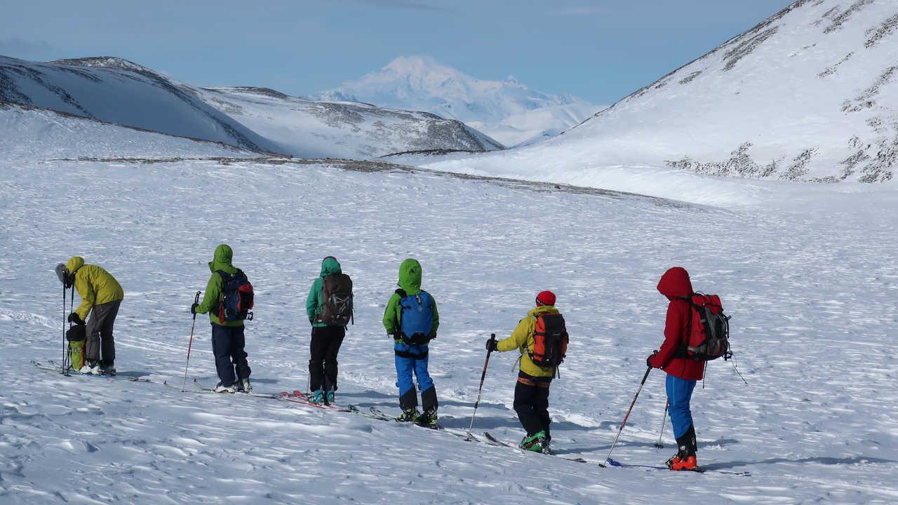 Ski en Russie au Kamchatka