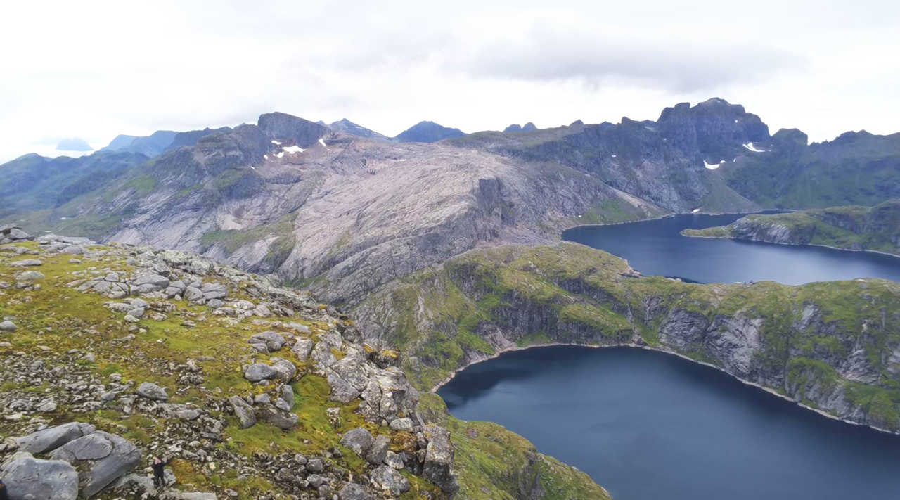 Sommet du Munkan, Norvège