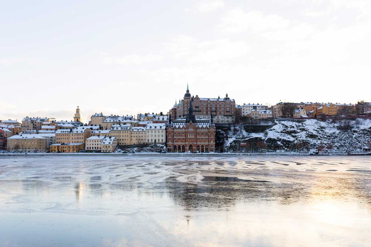 Sotckholm l'hiver
