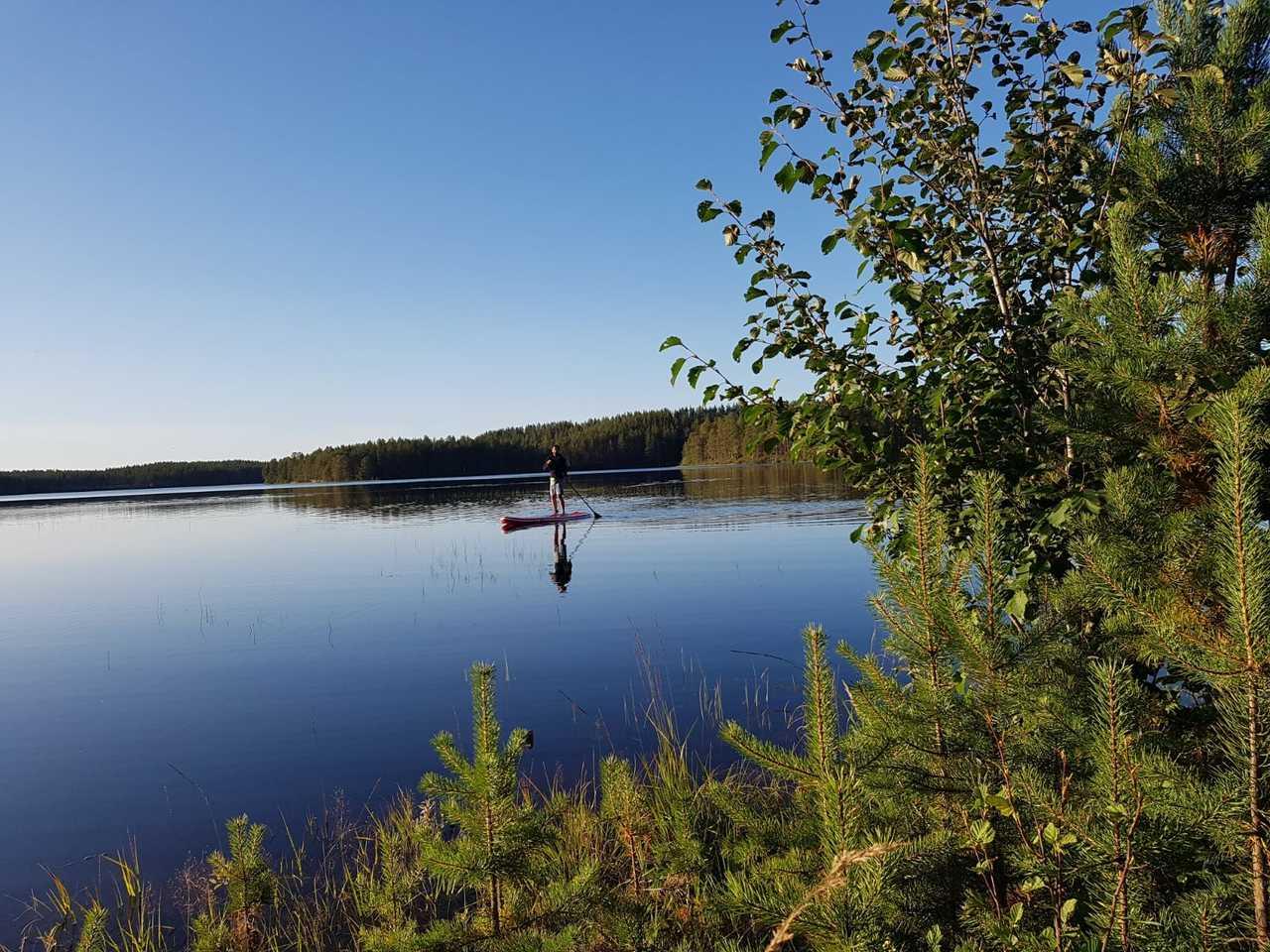 Stand Up Paddle en Finlande