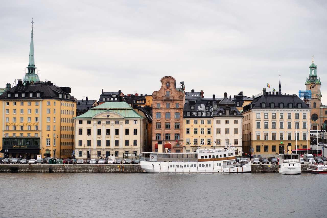 Stockholm l'été