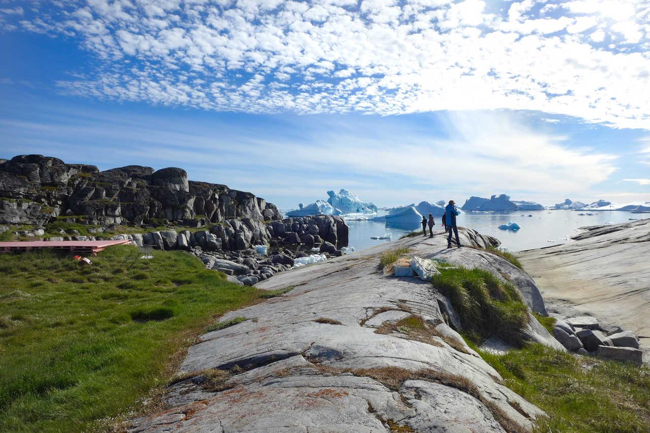 Sur la côte du Groenland, Baie de Disko