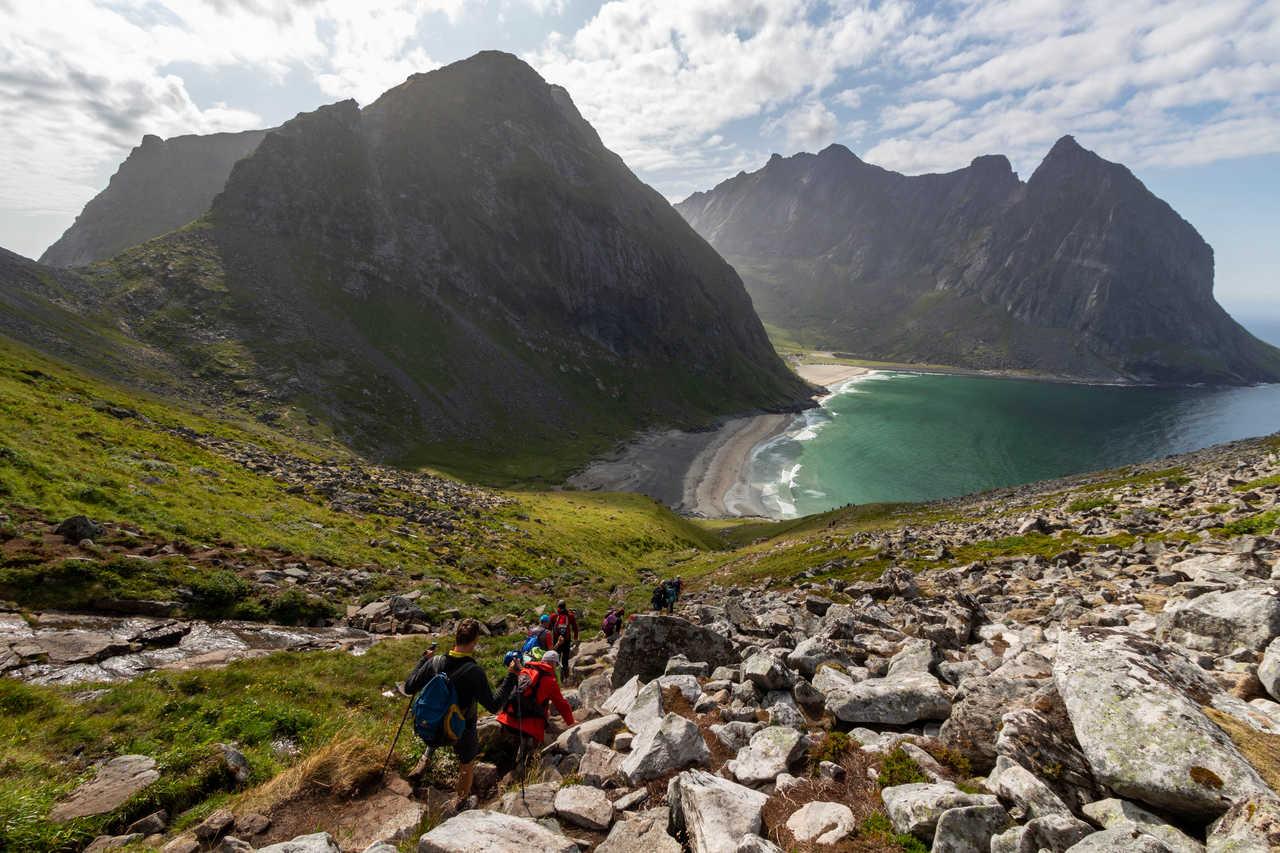 Trek en Norvège dans les îles Lofoten