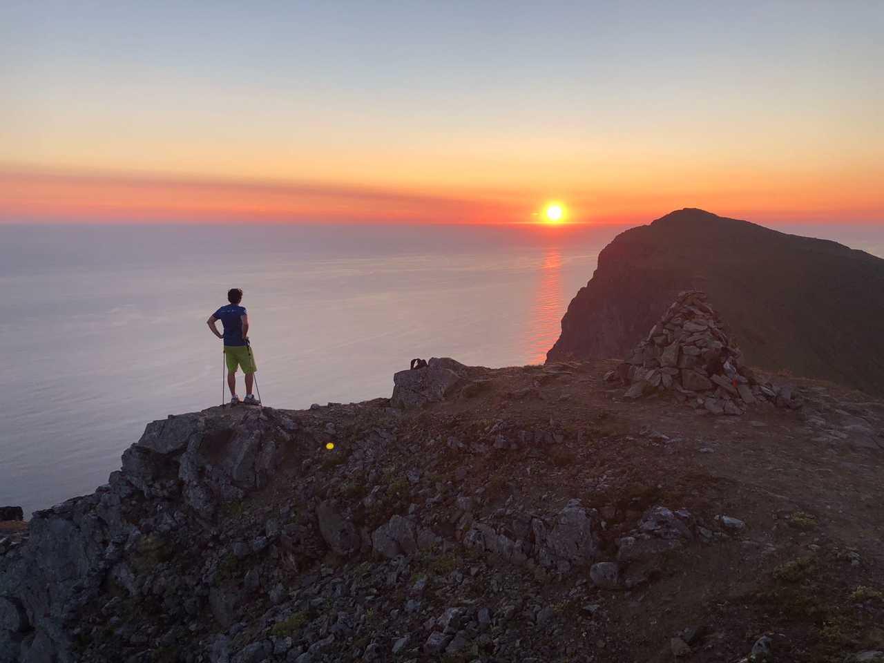 Trek sommet ryten Norvege