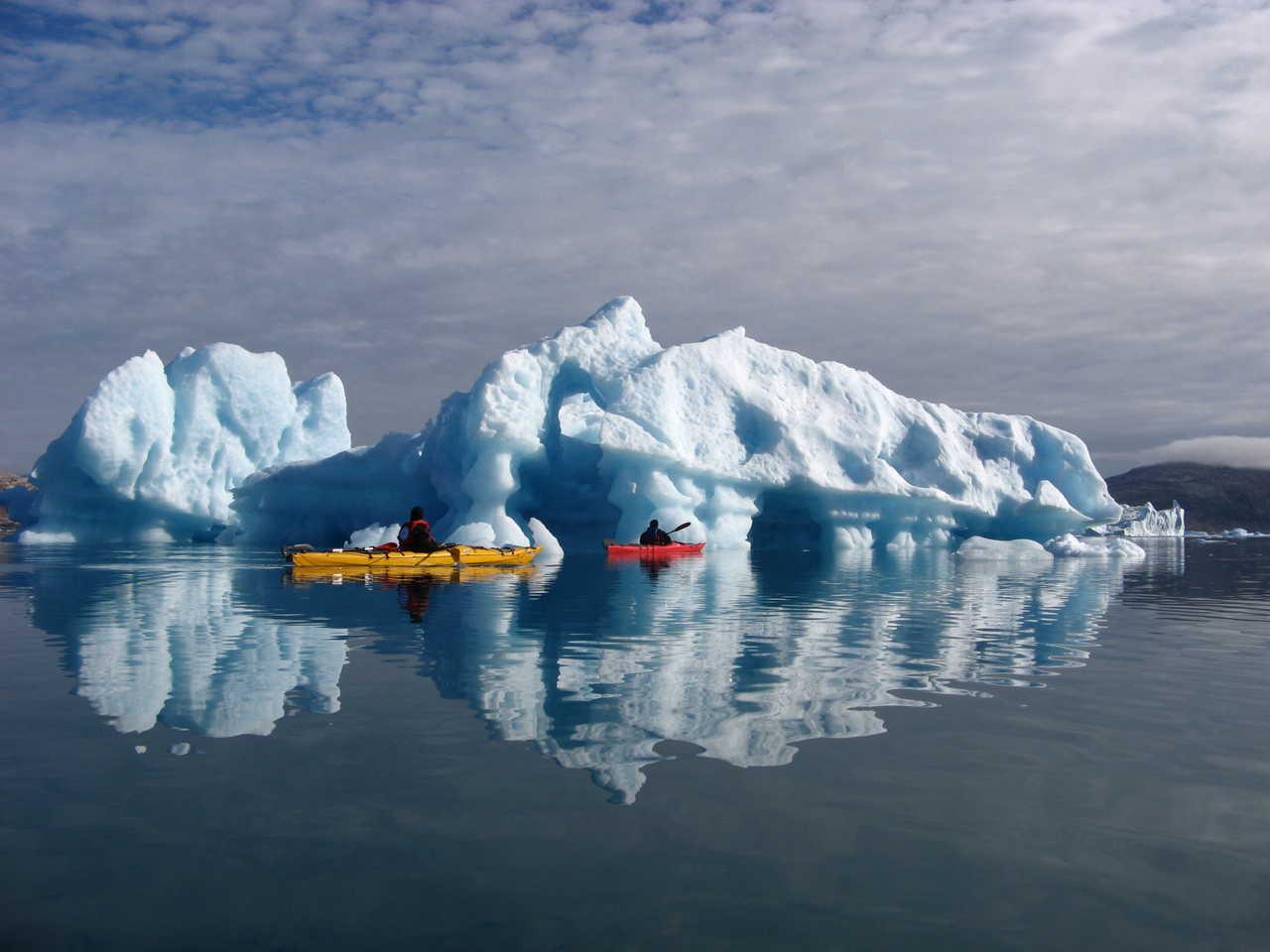 Vacances en kayak au Groenland