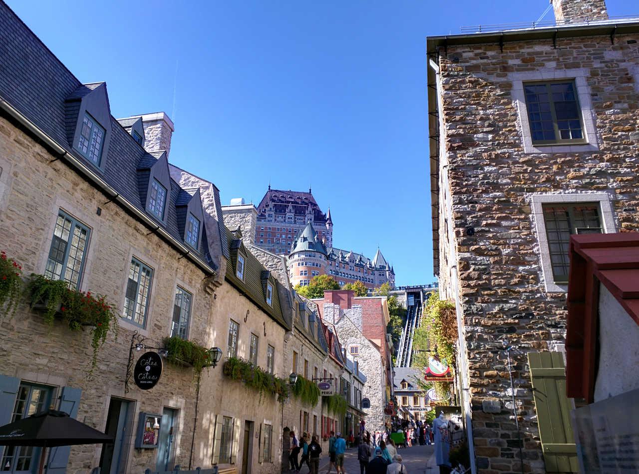 Vieille ville de Québec au Canada