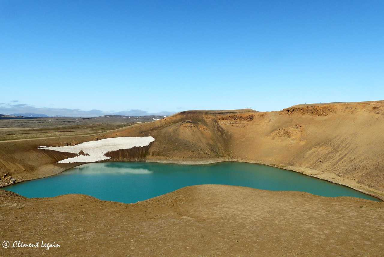 Volcan Krafla en Islande