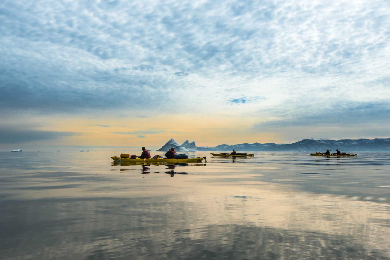 Voyage en Kayak au Groenland