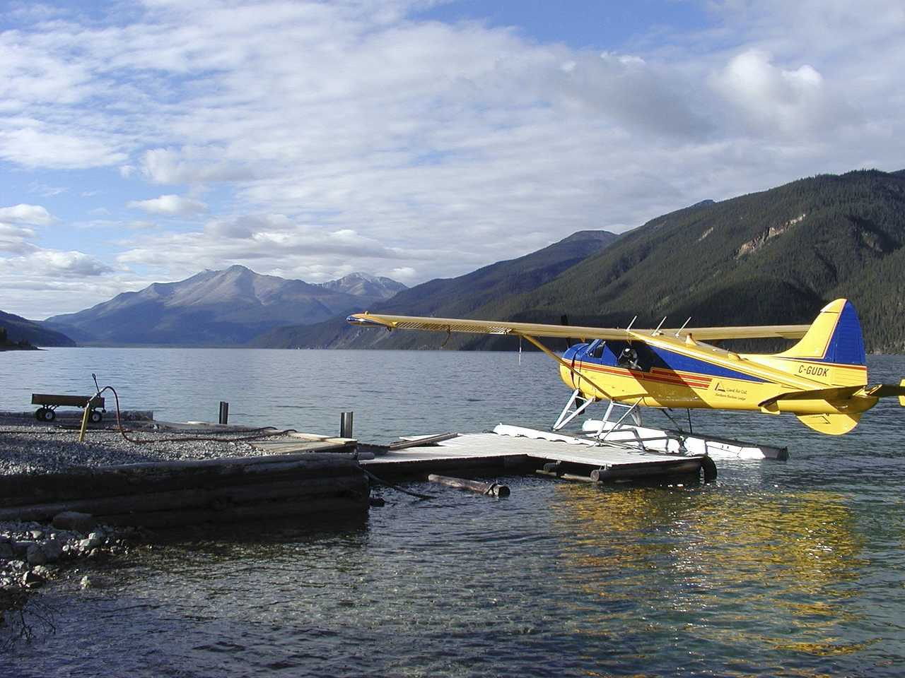 Voyage hydravion Canada