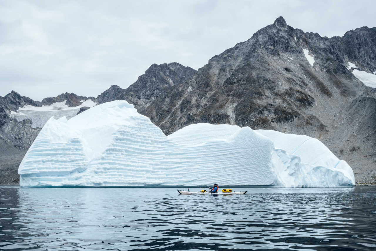 Voyage Kayak cote est Groenland