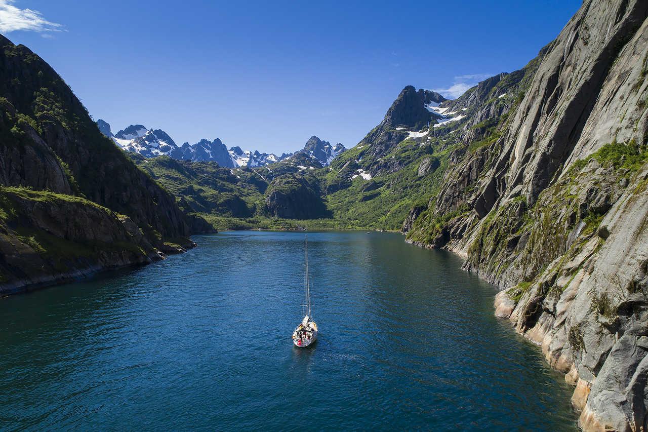 navigation dans les iles lofoten