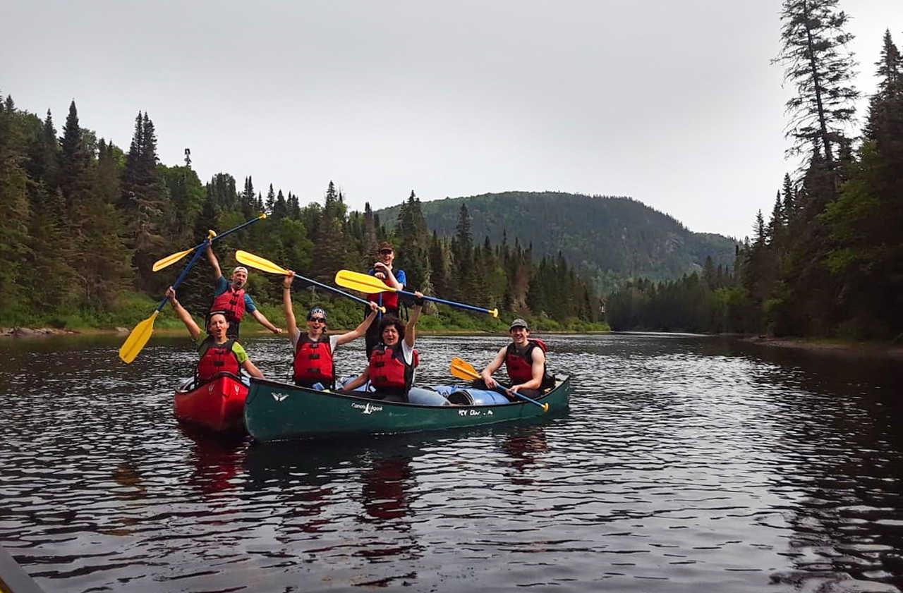 Voyage organisé au Canoë au Québec