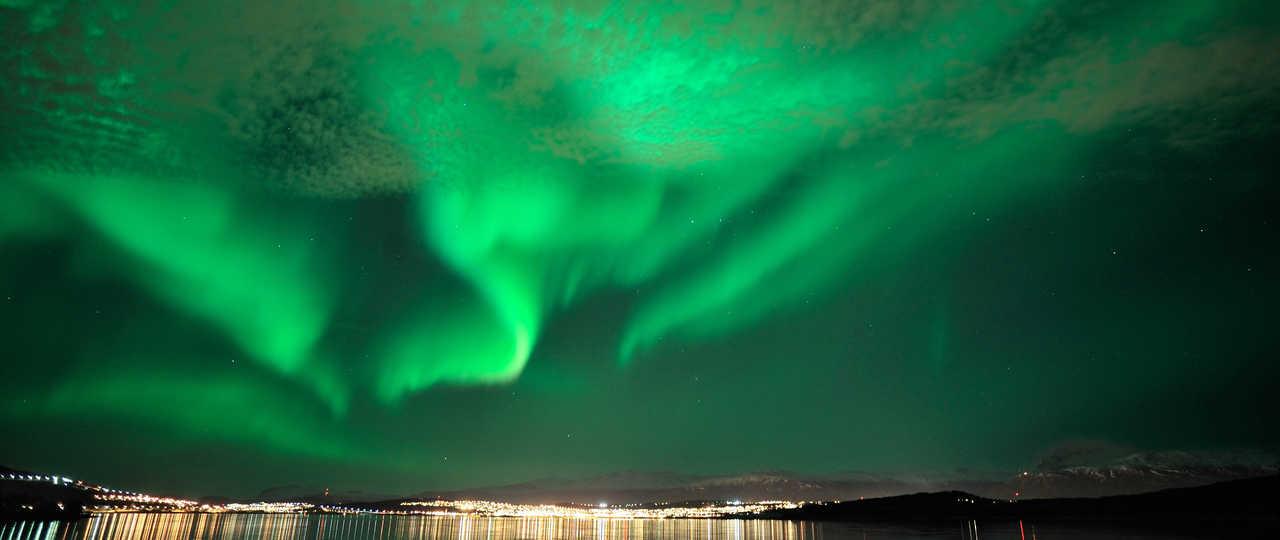 Aurores boréales en Norvège du Nord
