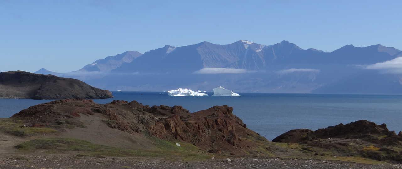 Photo d'un paysage lors d'une croisière polaire