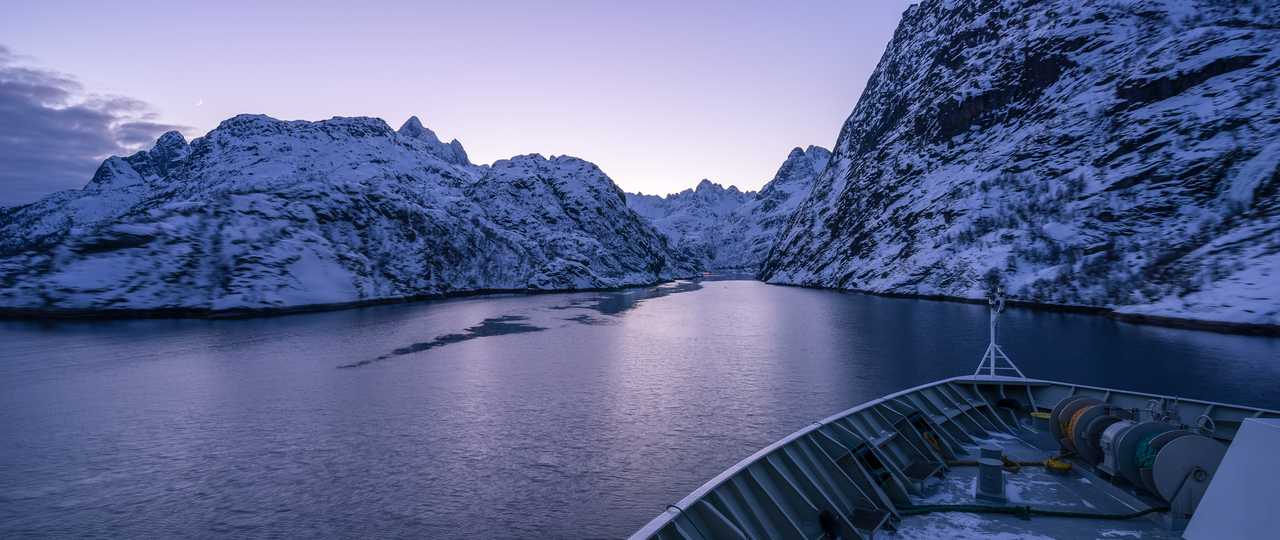 Bateau dans les Lofoten