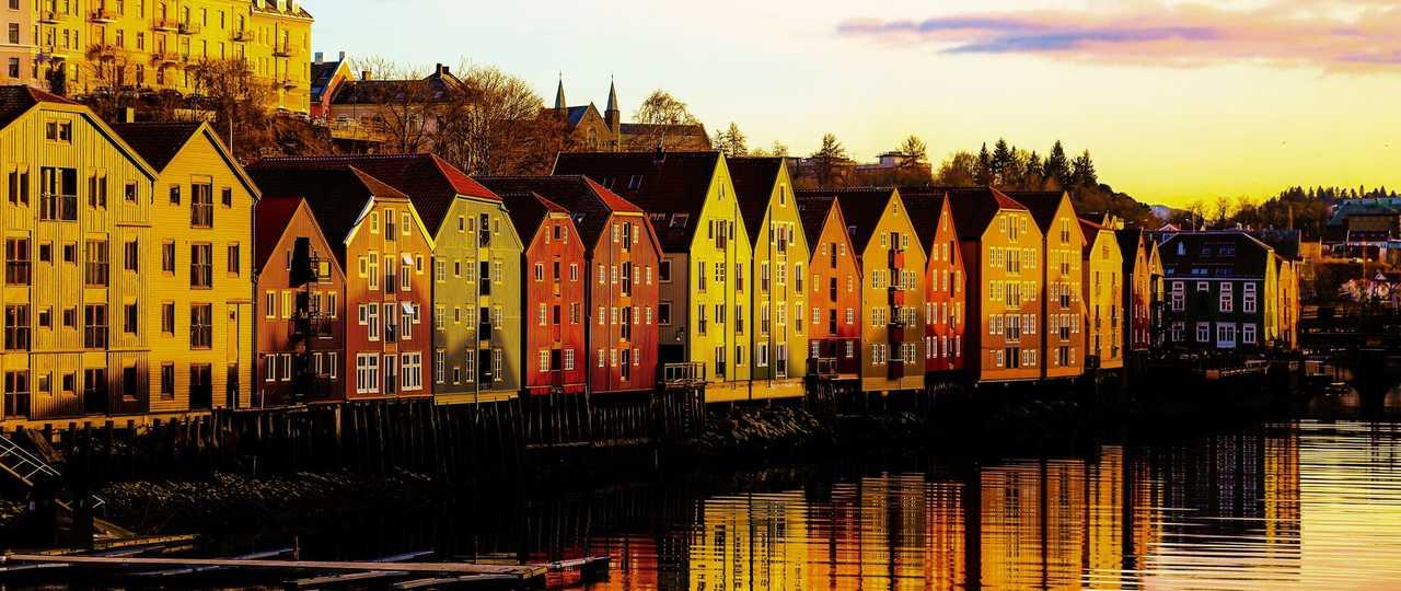 Bergen le soir