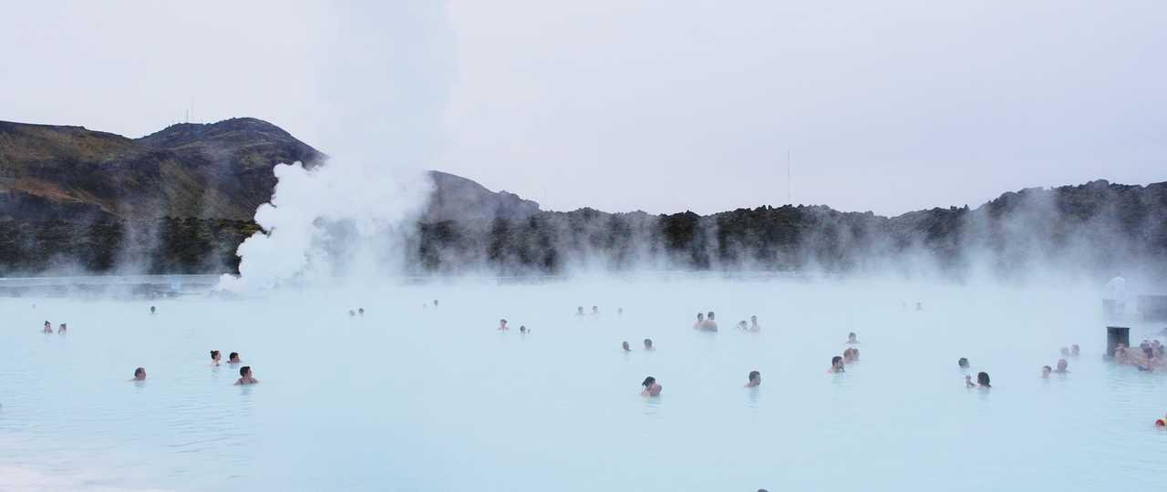 Photo du Blue Lagoon en Islande