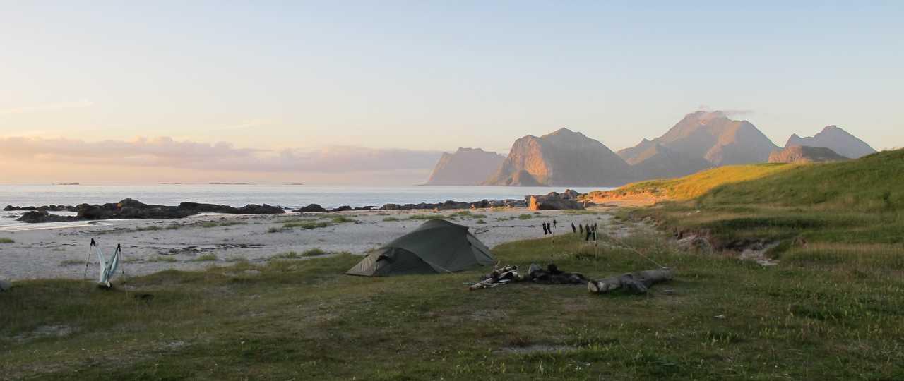 Camping en Norvège du Nord