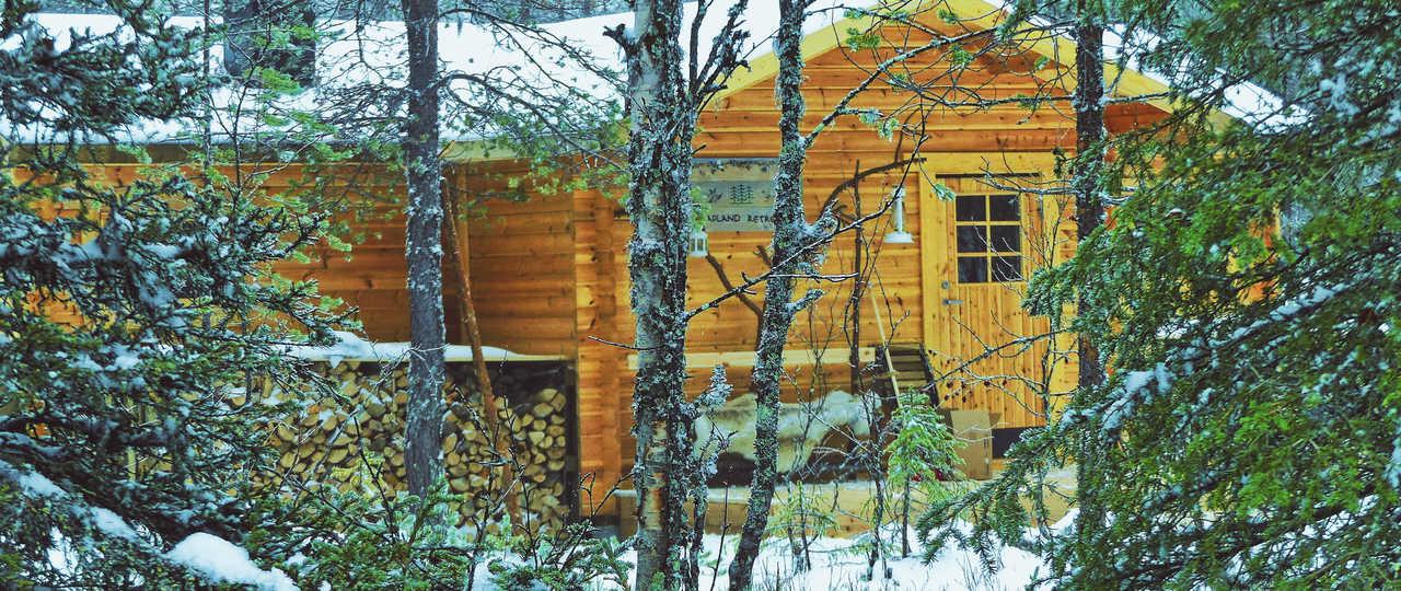 Chalet au cœur de la Laponie suédoise
